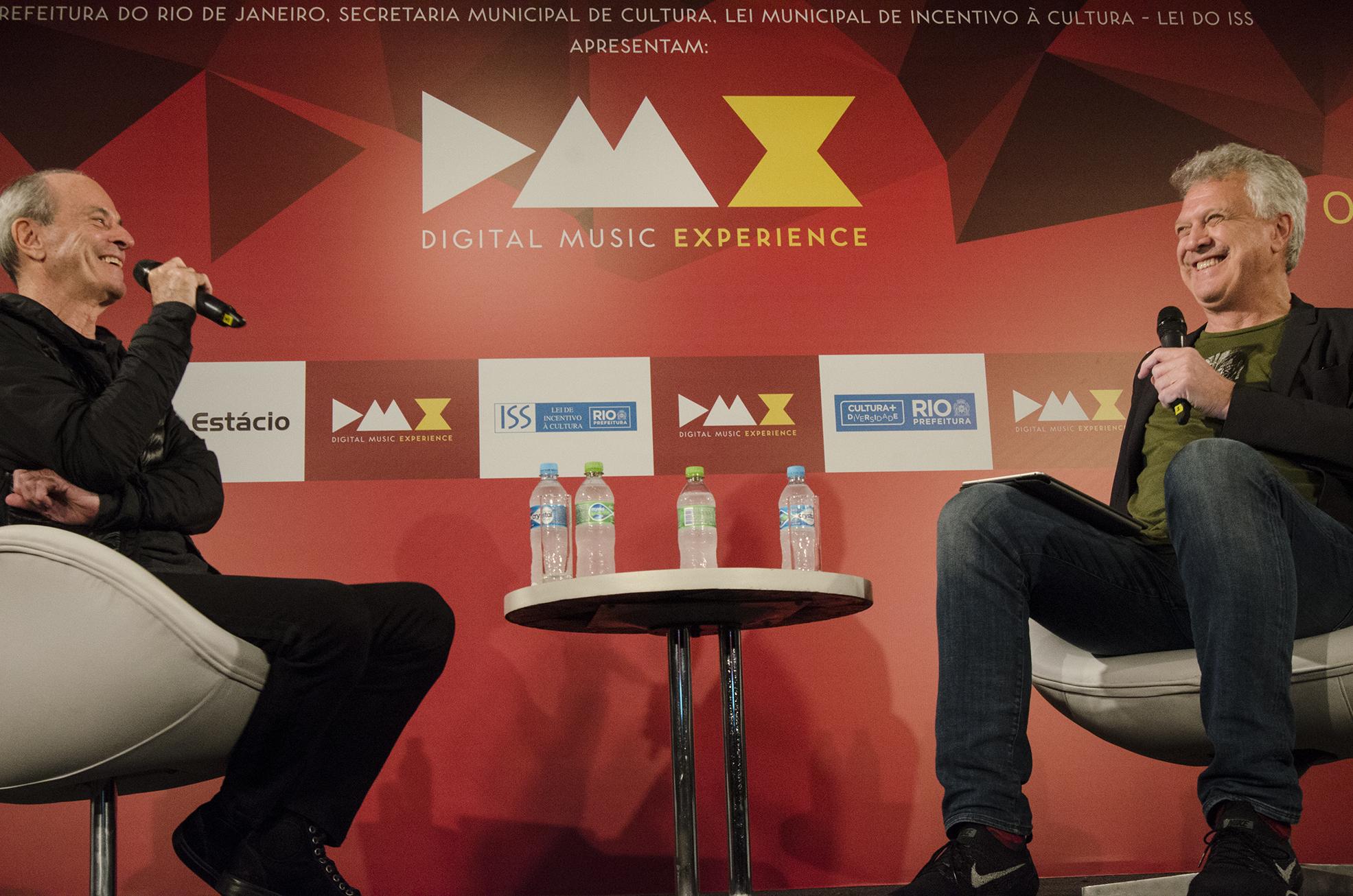 Ney Matogrosso e Pedro Bial (Foto: Caio Marcelo)