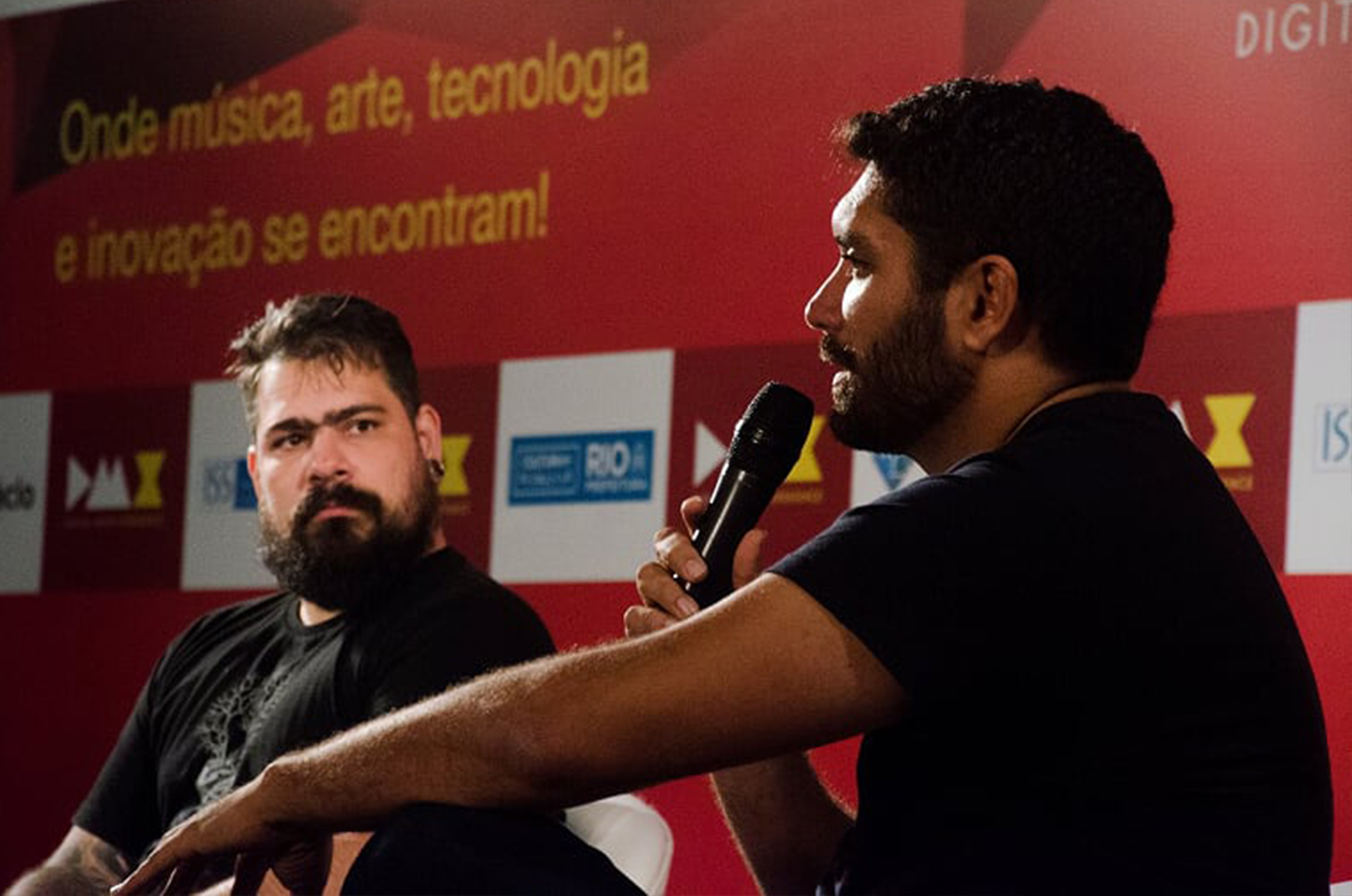 Jacques Barcia e Giordano Cabral (Foto: Lucas Lussac)